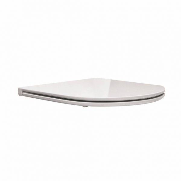 Flatline 2.0 toiletzitting + deksel one-touch wit