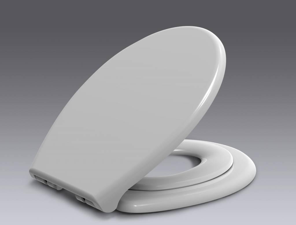Family Soft Close dubbele toiletzitting met deksel wit