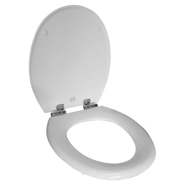 Toilet Zitting Van Marcke Bemis Softclose Houtcomposiet Wit