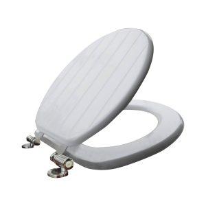 Toilet Zitting Van Marcke Stripe Softclose MDF Wit