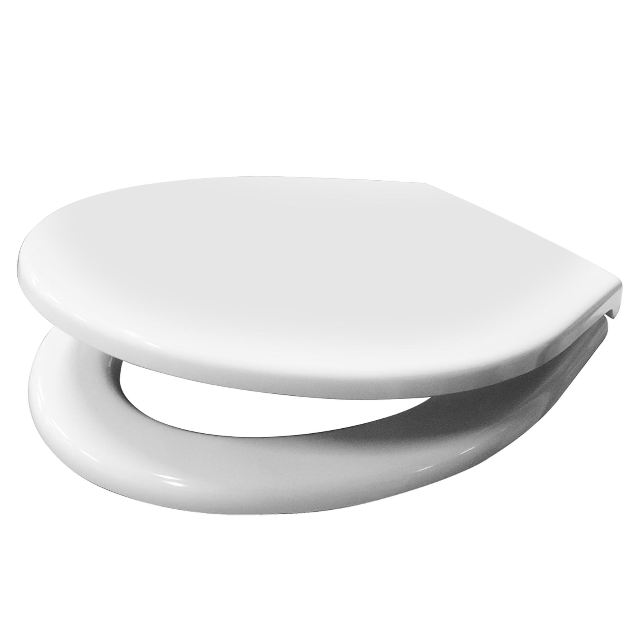 Toilet Zitting Van Marcke Haro Regent Soft Close Duroplast Wit