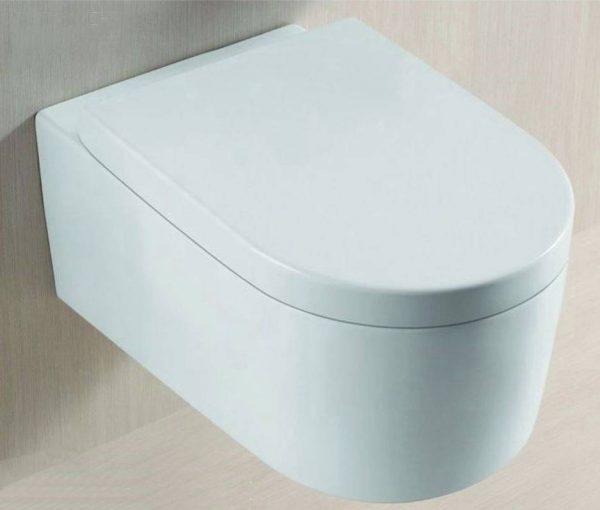 Arco wandcloset 55 cm met Soft-Close zitting wit