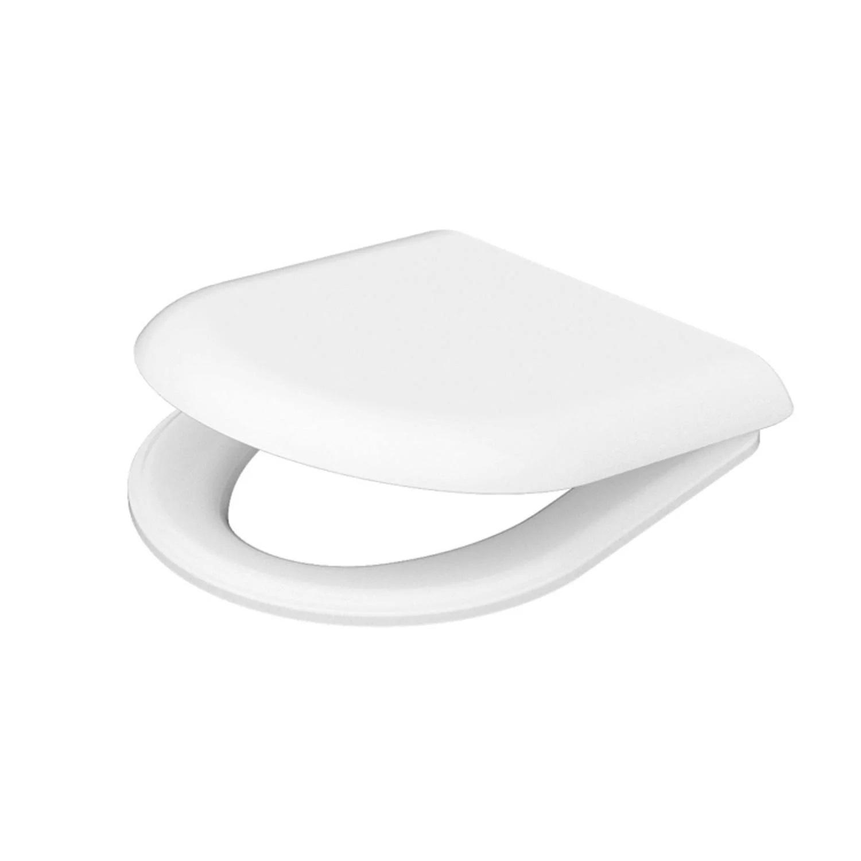 Toiletzitting Idevit Alfa Wit Met Softclose Systeem