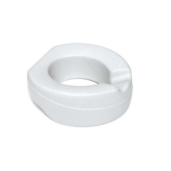 Handicare Linido closetzitting verhoogd zacht + 10cm licht grijs LI3030.0020-00