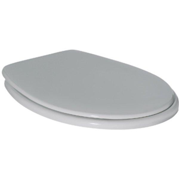 Ideal Standard Contour 21 closetzitting met deksel met doorlopende scharnierpen wit K792701 K792701
