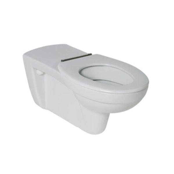 Ideal Standard Contour 21 closetzitting zonder deksel met doorlopende scharnierpen wit K792801 K792801